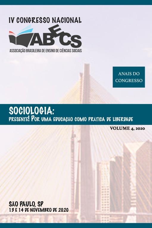 Visualizar v. 4 (2020): IV Congresso Nacional da Associação Brasileira de Ensino de Ciências Sociais – ABECS